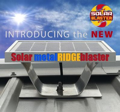 Solar Metal RIDGEblaster Roof Vent For Metal Roofs