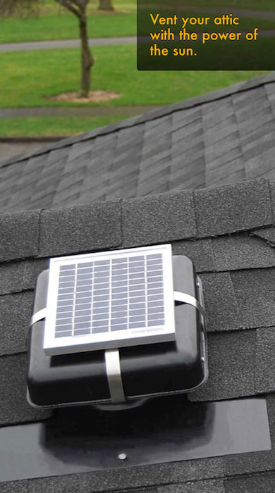Solar Powered Attic Roof Ventilation Fans Solar Blaster