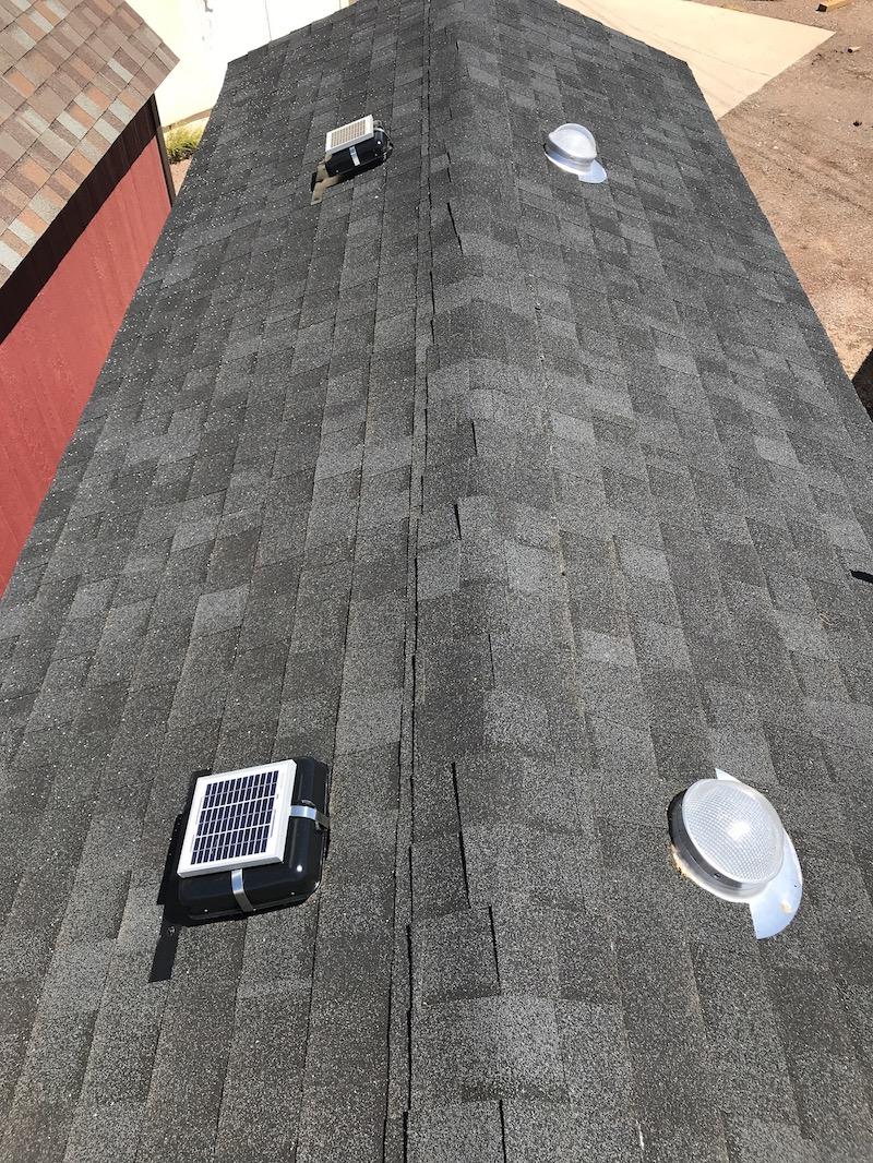 Garage Attic Fan >> Solar-Powered Attic Roof Ventilation Fans   Solar Blaster