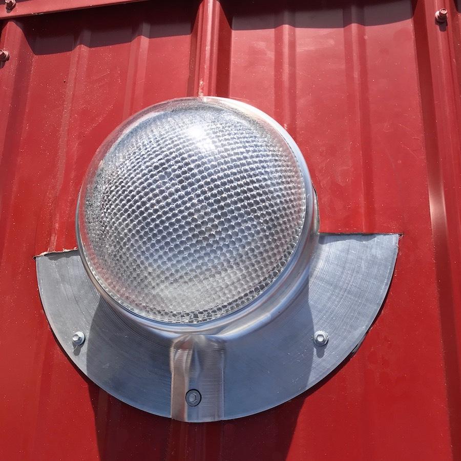 Solar Liightblaster For Sheds Solar Blaster